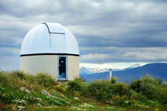 Astronomical Observatory at Tekapo Royalty Free Stock Photography