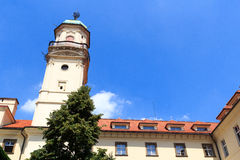 Astronomical tower of Clementinum, Prague Stock Photos