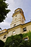 Astronomical Tower, Prague. The Astronomical Tower built 1722 of the Clementinum. Various meteorological and climate measurements are being made from 1775, which Stock Photography