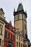 Astronomical Tower in Prague, Czech Republic Royalty Free Stock Image