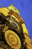 astronomiczna czeska republiki Prague zegara Obrazy Royalty Free