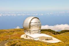 Astronomiczny Obserwatorski teleskop obraz royalty free