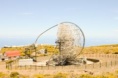 Astronomiczny Obserwatorski teleskop fotografia stock