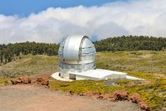 Astronomiczny Obserwatorski teleskop zdjęcia stock