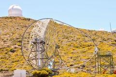 Astronomiczny Obserwatorski teleskop zdjęcie stock
