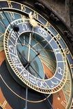 Astronomiczny Praga Zegar Zdjęcia Stock