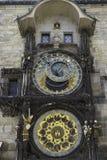 Astronomiczny zegar w Praga, CZ Obraz Stock