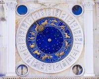 astronomiczny zegarowy Italy Venice zdjęcia royalty free