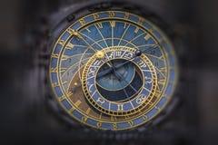 Astronomiczny Zegarowy Orloj w Praga obrazy royalty free