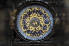 Astronomiczny Zegarowy Orloj w Praga zdjęcia stock