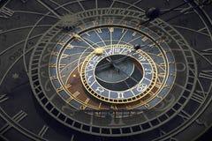 Astronomiczny Zegarowy Orloj w Praga obraz stock