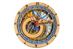 Astronomiczny Zegarowy Praga Orloj - pamiątka od Praga obrazy royalty free