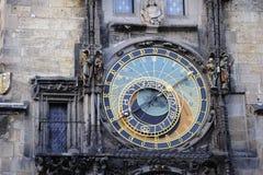 astronomiczny zegarowy Prague Zdjęcia Stock