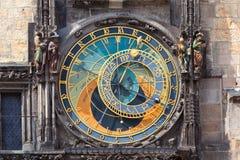 astronomiczny zegarowy Prague Obrazy Royalty Free