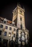 astronomiczny zegarowy Prague fotografia royalty free