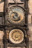 astronomiczny zegarowy stary Prague obraz royalty free