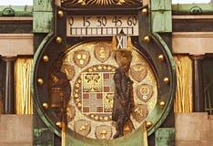 astronomiczny zegarowy Vienna Zdjęcie Royalty Free