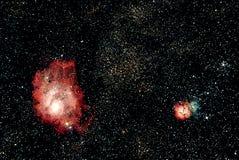 Astronomie royalty-vrije stock afbeelding