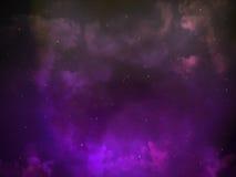 Astronomie de ciel nocturne Images stock