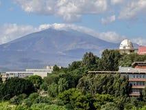 Astronomisch waarnemingscentrum Royalty-vrije Stock Foto