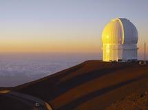 Astronomisch Waarnemingscentrum - Hawaï - de V.S. royalty-vrije stock afbeeldingen