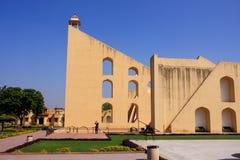 Astronomisch Waarnemingscentrum Jantar Mantar in Jaipur, Rajasthan, Ind. stock foto
