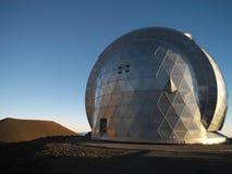 Astronomisch Waarnemingscentrum - Mauna Kea - Hawaï stock fotografie