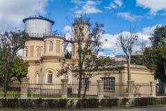 Astronomisch waarnemingscentrum in Quito stock afbeeldingen