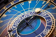 Astronomische Borduhr Lizenzfreies Stockbild