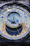 Astronomische Borduhr Lizenzfreies Stockfoto