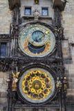 Astronomische Borduhr stockbild