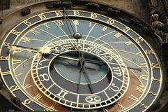 Astronomische Borduhr Prag Stockfoto