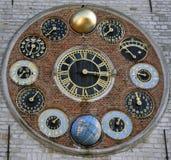 Astronomische clockworcks Stock Fotografie