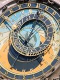 Astronomische klok Stock Afbeeldingen