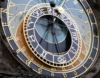 Astronomische klok Stock Afbeelding