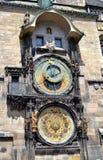 Astronomische klok Royalty-vrije Stock Fotografie