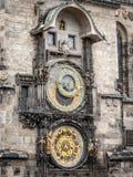 Astronomische klok stock foto's