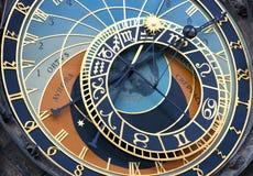 Astronomische klok Royalty-vrije Stock Afbeeldingen
