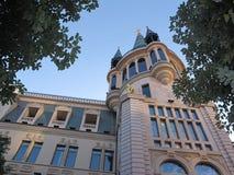 Astronomische Klok in Batumi Royalty-vrije Stock Afbeeldingen