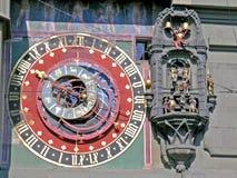 Astronomische klok in Berne Stock Fotografie