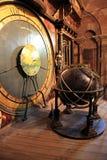 Astronomische klok - Notre Dame in Straatsburg Stock Afbeelding