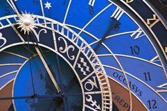 Astronomische klok, Praag stock fotografie