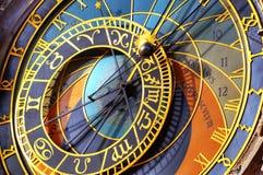 Astronomische klok Praag Royalty-vrije Stock Afbeeldingen