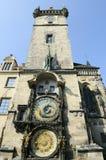 Astronomische Klok, Praag (Republiek Chech) Royalty-vrije Stock Afbeeldingen