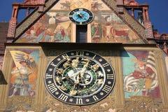 Astronomische klok, Ulm Stock Foto's