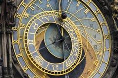 Astronomische klok van Praag Stock Foto's