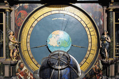 Astronomische Uhr Straßburgs Lizenzfreie Stockfotos