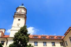 Astronomischer Turm von Clementinum, Prag stockfotos