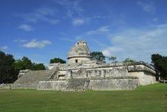 Astronomisches Beobachtungsgremium des Mayas Stockfoto