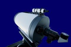 Astronomisches Beobachtungsgremiumteleskop getrennt Lizenzfreies Stockbild